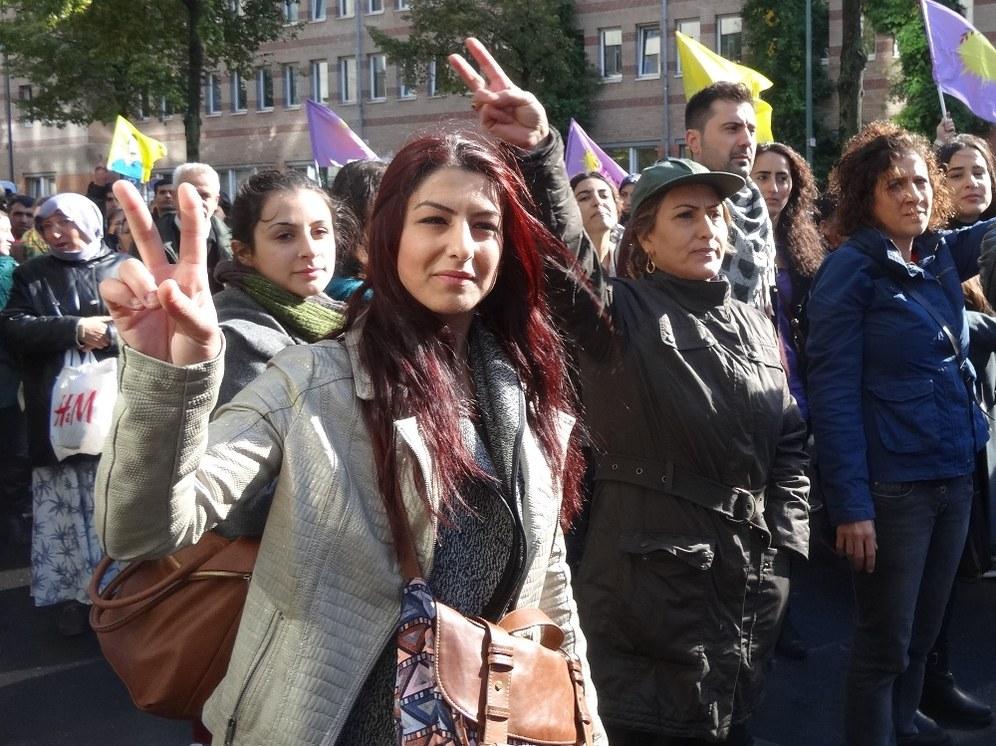 Düsseldorf: Freiheit für Kobanê!