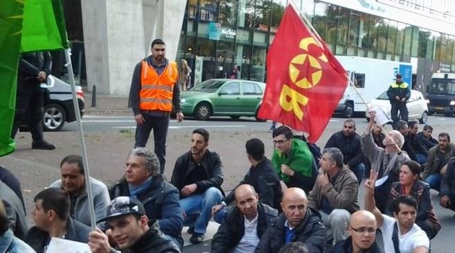 5.000 fordern in Basel Unterstützung für Kobanê - fast 1.000 in Den Haag