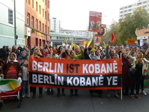 Berlin ist Kobanê - überall ist Widerstand!