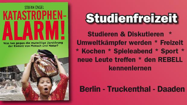 Hit im Herbst: Rebellische Studienfreizeit!