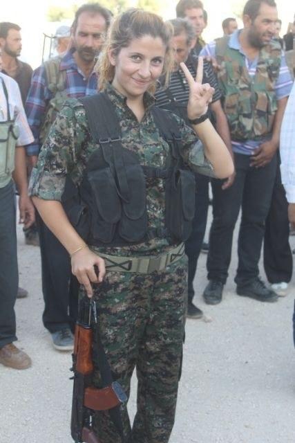 Kurdische Kämpferin von IS-Faschisten bestialisch ermordet