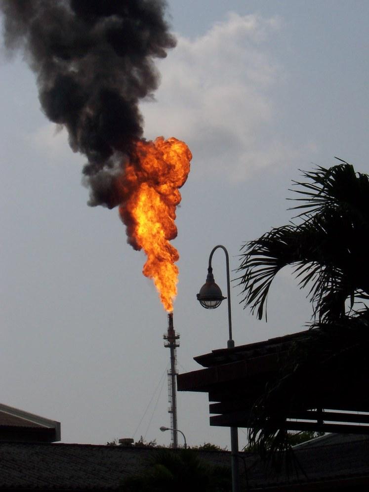 AUF Gelsenkirchen: BP gibt erstmals Probleme bei der Abfackelung zu