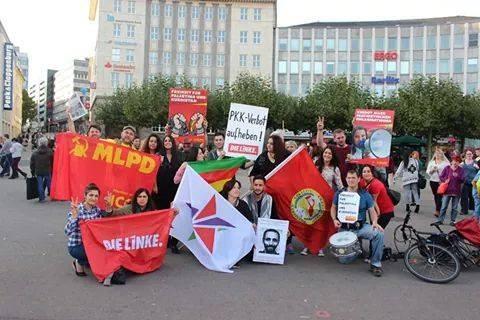 Kassel: Kraftvolle Demo für Kobanê