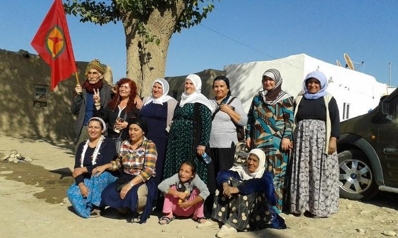 """""""Allianz verstärkte ihre Luftangriffe erst nach dem großen Aufstand der Kurden"""""""