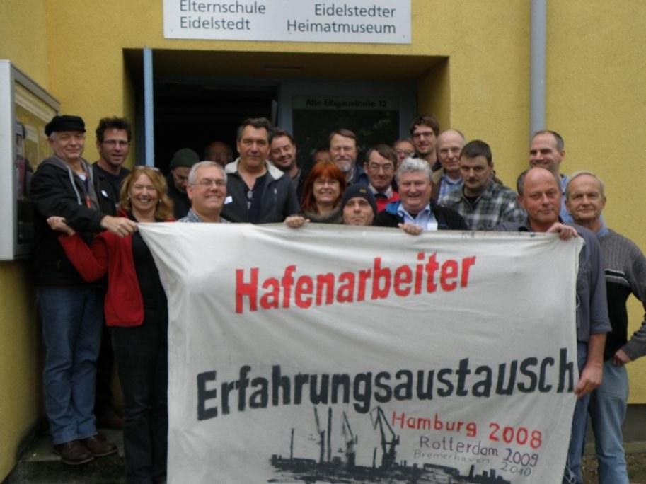 """""""Für eine neue Organisiertheit an den Kaianlagen – International!"""""""