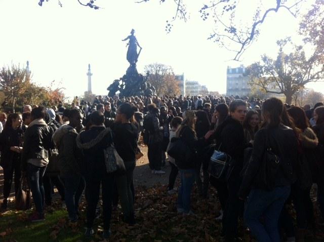 Jugendproteste gegen Polizeigewalt in Frankreich