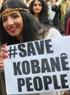 "Soli-Tour ""Unser Herz den Heldinnen in Kobanê"""
