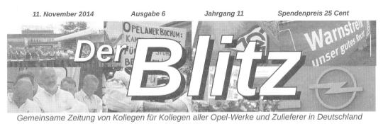 """""""Opel hat sich an der Bochumer Belegschaft viele Zähne ausgebissen"""""""