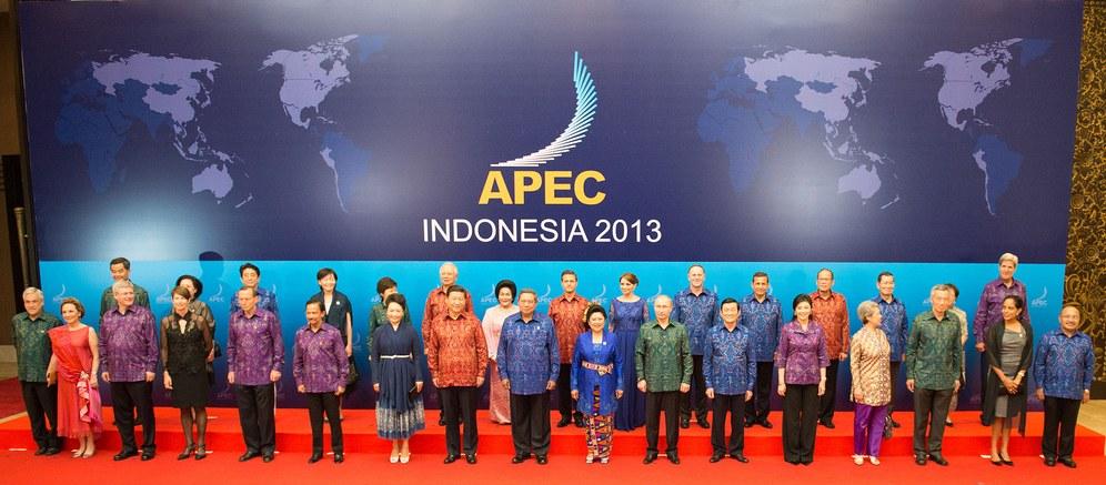 APEC-Gipfel: Vorne lächeln, hinten Hauen und Stechen