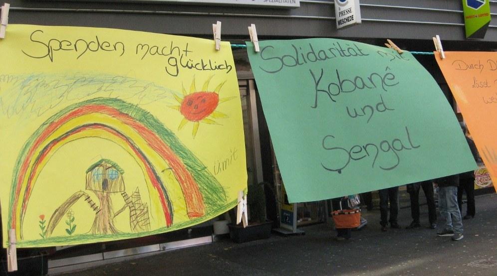 Gelungene Spendenaktion für Rojava