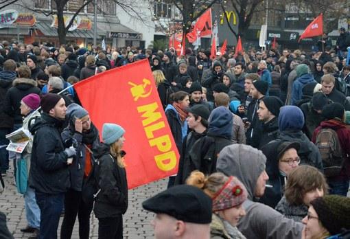 Hannover: Faschistischer Aufmarsch weitgehend verhindert