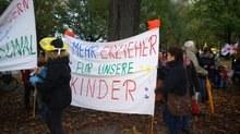 """Demo der Beschäftigten des öffentlichen Dienstes in Hamburg: """"Wir sind eine Macht, wenn wir zusammenhalten!"""""""
