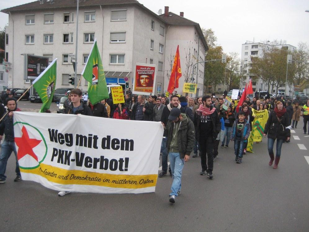 Solidarität mit dem Widerstand von Kobanê in Göppingen und Heilbronn