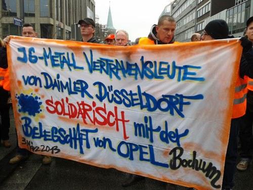 """Gemeinsame Montagskundgebung am 8. Dezember: """"Wir haben die Schließung nie akzeptiert ... und tragen die Fackel weiter!"""""""