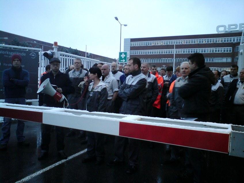 Morgen letzte Schicht bei Opel in Bochum – Montag große Kundgebung!