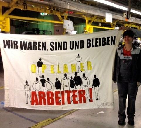 Bewegende letzte Schicht bei Opel Bochum