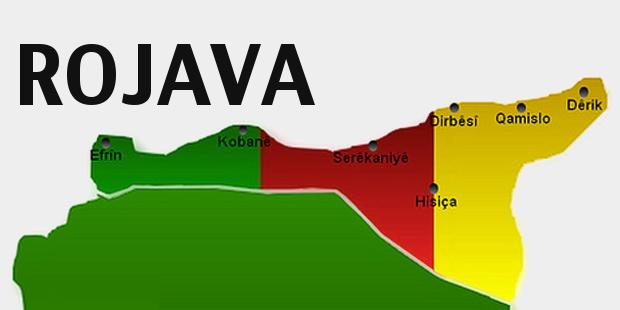 Rundreise mit führenden Vertretern der Selbstverwaltungs-Regierung in Efrin (Rojava)