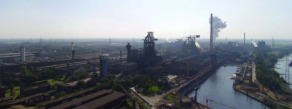 Streik- und Aktionstag bei TKSE Duisburg Hamborn/Beeckerwerth