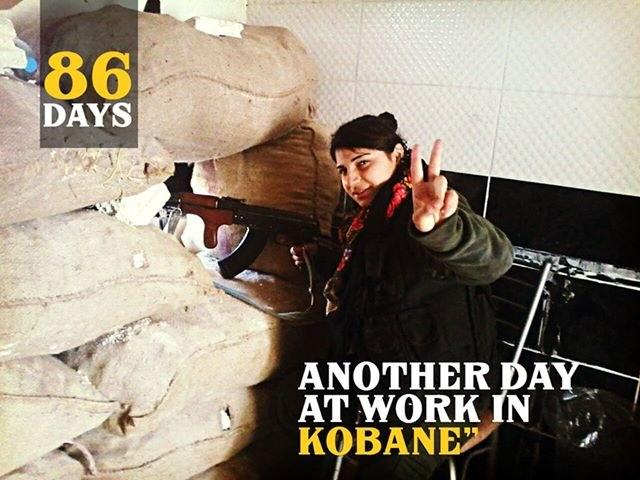 Kobanê: YPG/YPJ gehen in die Offensive - PYD-Vertreter begrüßen praktische Solidarität in Deutschland