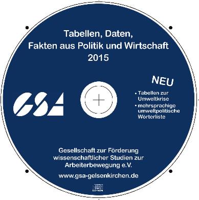 Neue Info-CD der GSA 2015