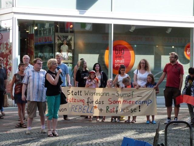 Gelsenkirchen: Gelungene Jugendaktion auf der 538. Montagsdemo