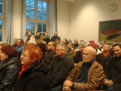 Große Solidarität beim Prozess von Murat Günesch