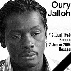 10. Todestag von Oury Jalloh