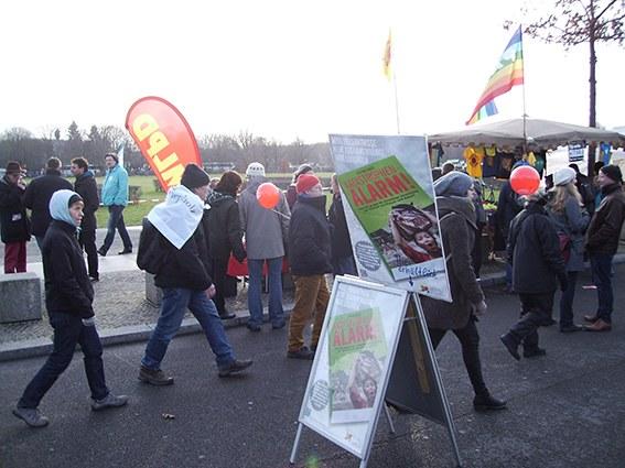 """Widerstand gegen TTIP prägte """"Wir haben es satt!""""-Demonstration"""