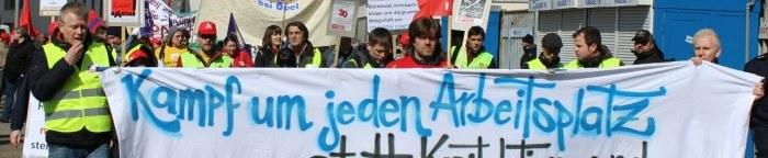 """Opel Bochum: Lüge vom """"sozialverträglichen Arbeitsplatzabbau"""" offen gescheitert"""