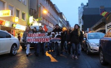 Voller Erfolg des antifaschistischen Protestes in Köln