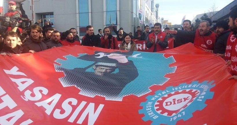 Proteste gegen Metallstreik-Verbot in der Türkei