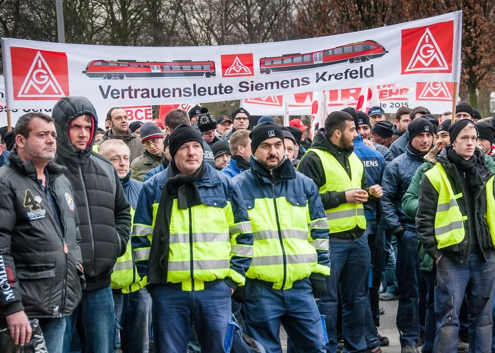 """München: Mit dem """"Aufstand des gewerkschaftlichen Gewissens"""" zur Tarifrunden-Demonstration"""