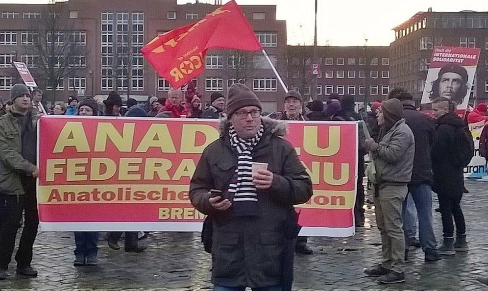 Überwältigende antifaschistische Demonstration gegen AfD-Parteitag in Bremen