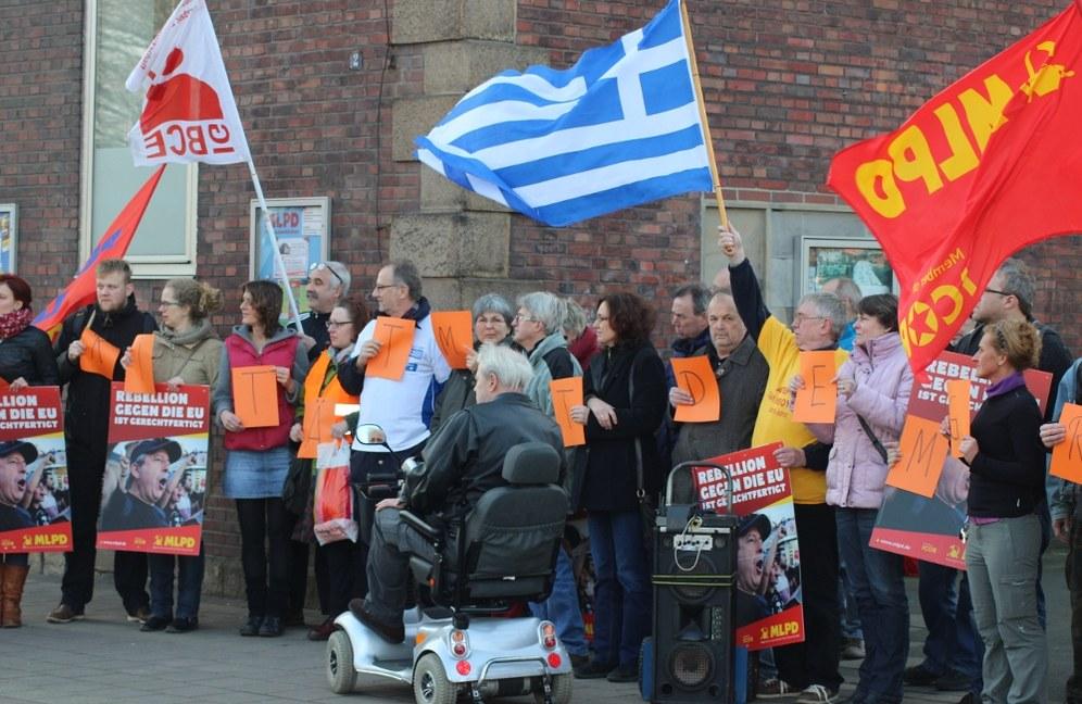 Europaweit: Solidarität mit dem griechischen Volk