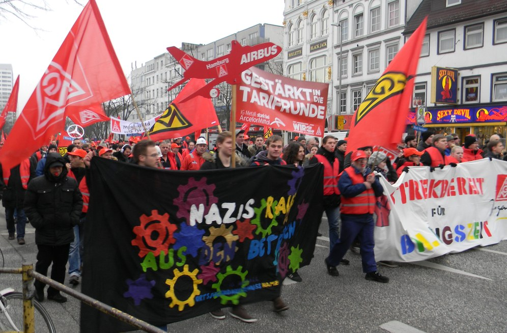 5.000 Kolleginnen und Kollegen in Hamburg im Warnstreik