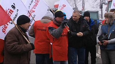 Streiks der Bergarbeiter in Polen nehmen an Härte zu