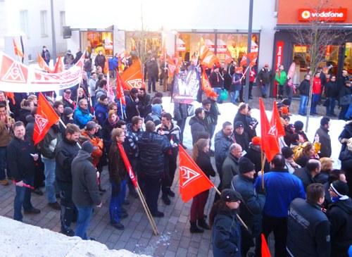 Warnstreik-Kundgebung in Albstadt: Wie wird die IG Metall zur Kampforganisation?