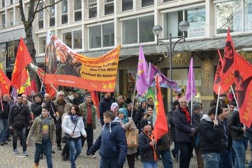 Demonstrationen gegen das PKK-Verbot in Berlin, Köln und Bremen