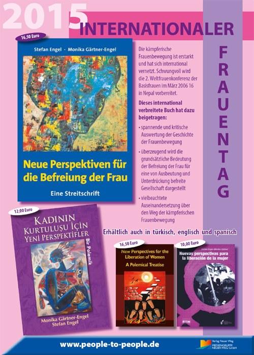 Schöne Buchwerbung zum 8. März erhältlich