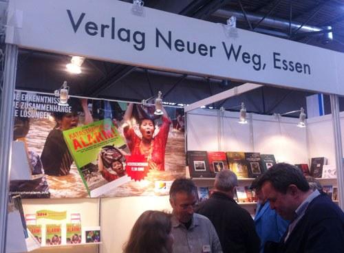 Verlag Neuer Weg auf der Buchmesse Leipzig
