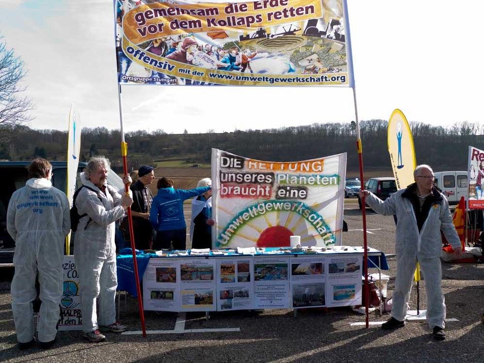 Fukushima-Jahrestag: Über 3.000 bei Demonstration in Neckarwestheim