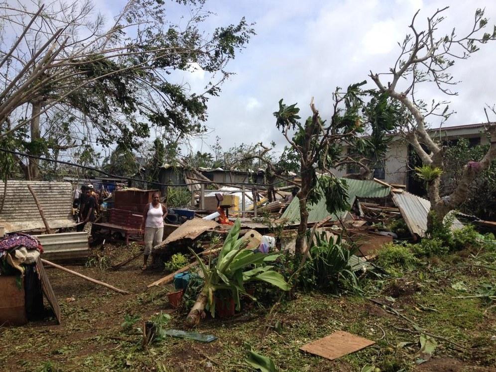 """Vanuatu: Zyklon """"Pam"""" hinterlässt ein zerstörtes Paradies"""