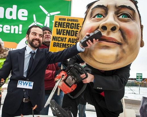 Gabriel: Freund der Energie-Monopole und Feind der Umwelt und Arbeitsplätze