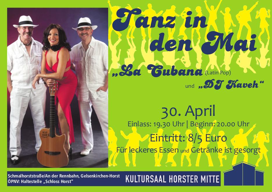 Auch 2015 wird in Gelsenkirchen in den 1. Mai getanzt