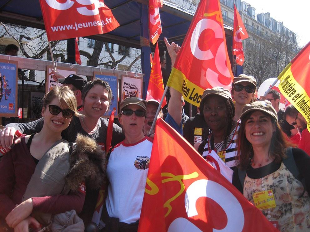 Frankreich: Hunderttausende beim landesweiten Streik- und Aktionstag