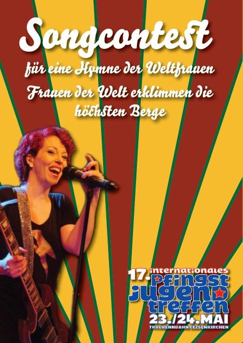 Macht mit beim Songcontest auf dem Internationalen Pfingstjugendtreffen!