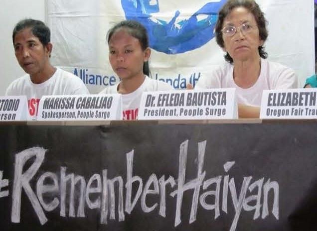 Philippinen: Selbsthilfe nach Supertaifun - Dr. Efleda Bautista berichtet in Stuttgart
