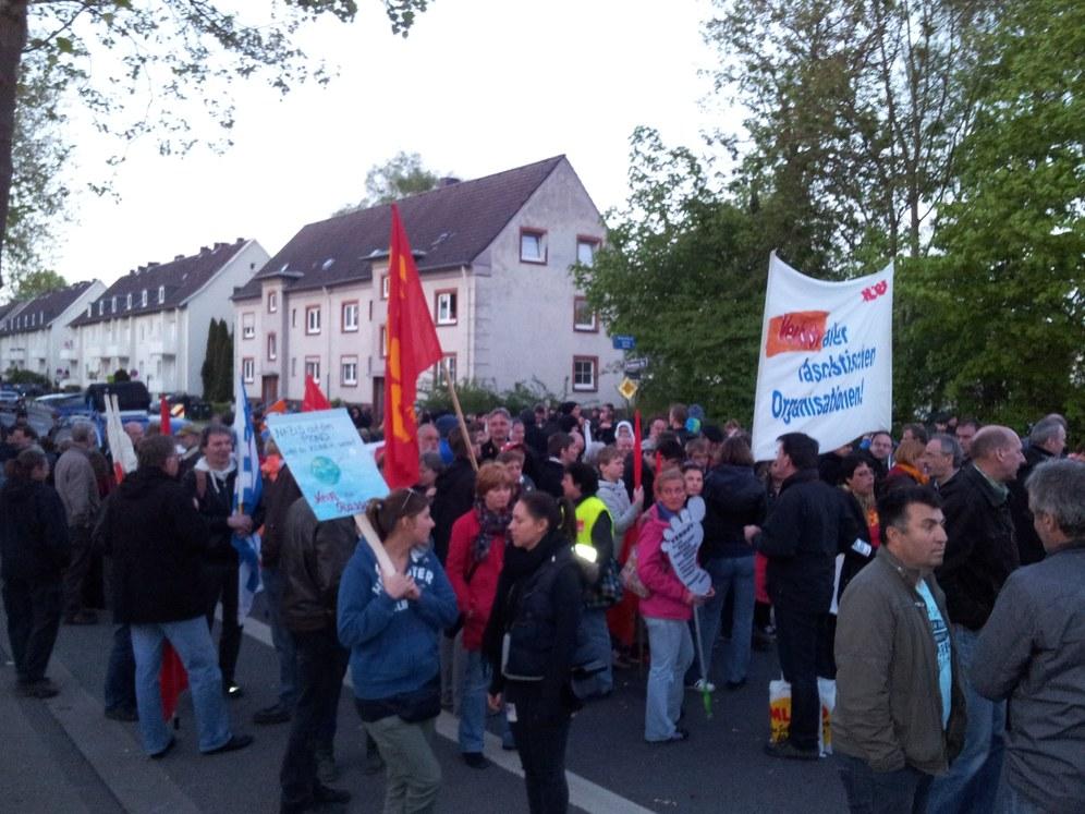Essen/Gelsenkirchen: Keinen Fußbreit gab es für die Faschisten – Antifaschisten machten Siegesdemonstration