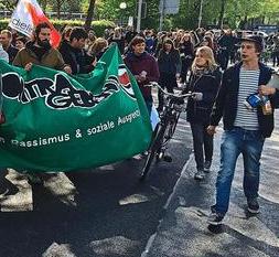 Münster: Demonstration gegen drohende Abschiebung