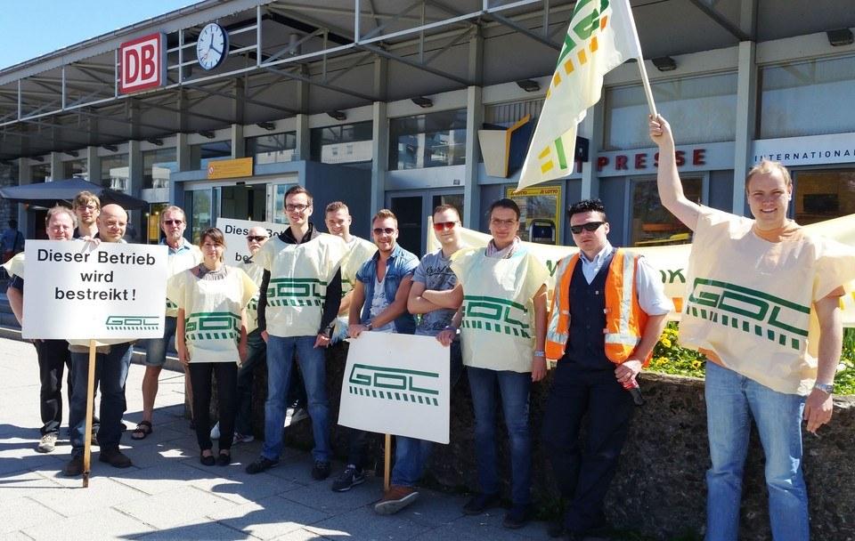 Saarbrücker Bevölkerung solidarisch mit streikenden Lokführern